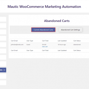 Mautic WooCommerce Integration